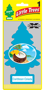 x-tra strength Little Trees of Caribbean Colada