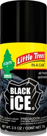 Black Ice Little Trees in a Can