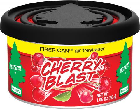 Cherry Blast Little Trees Fiber Can