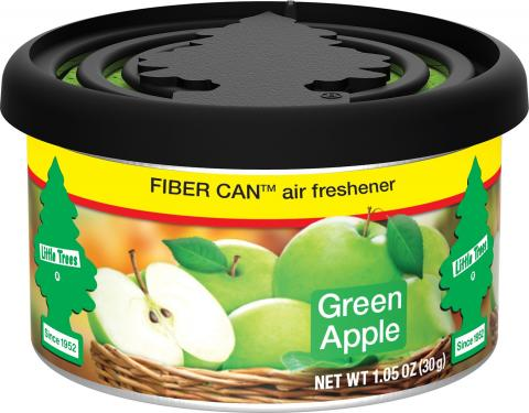 Green Apple Little Trees Fiber Can