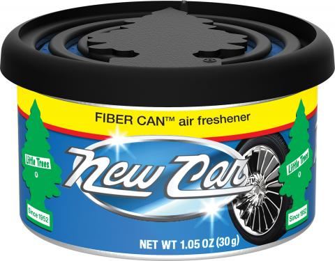 New Car Scent Little Trees Fiber Can