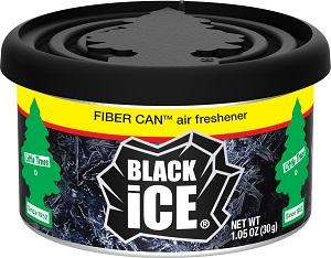 Black Ice Little Trees Fiber Can