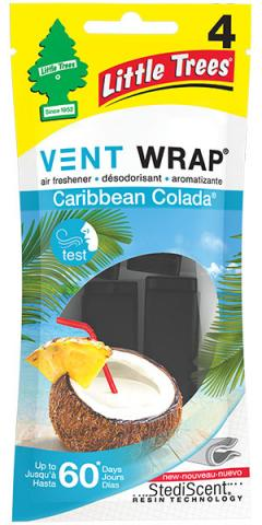 Caribbean Colada Little Trees Vent Wrap